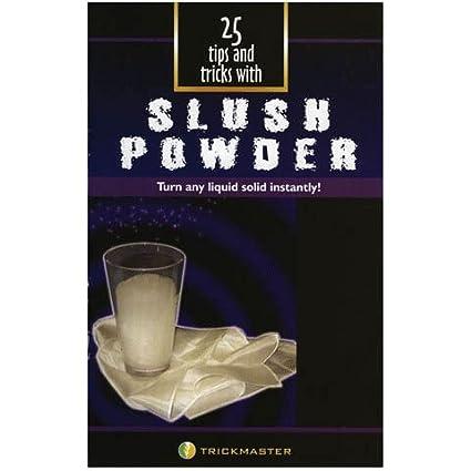 Amazon com: Rock Ridge Magic Slush Powder Booklet: Toys & Games