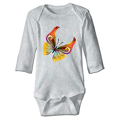 Clothing Butterfly Kite (WilBstrn Butterflies Infant Baby Boys Girls Clothing Shirts Long Sleeves Rompers Jumpsuit)