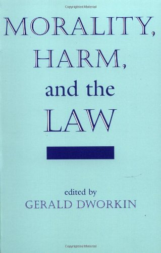 Morality, Harm, And The Law