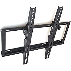 Sunydeal TV Wall Mount Bracket,Tilting TV Bracket for Samsung/Sony/Vizio/LG/Panasonic/TCL/Element 17-55 Inch LED/LCD/OLED and Plasma Flat Screen TVs up to 400x400mm and 79lbs