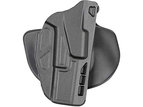 Safariland 7378, ALS Concealment Paddle and Belt Loop Combo Holster, Fits: Glock 20, 21, Black - STX Plain, Right Hand