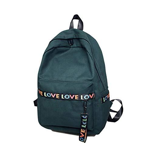 a6075bee3c Letter Fashion Leisure Backpack Haversack Travel School Backpack for Girls  Teenage School Backpack Women Print Backpack