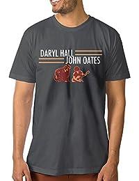 Mens Daryl Hall and John Oates Tour Classic Walk DeepHeather Shirts Short Sleeve