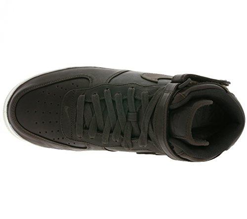 Air 905619 Leather Sneaker Mid Nikelab Force Brown 200 Genuine 1 Nike Sq5fwH