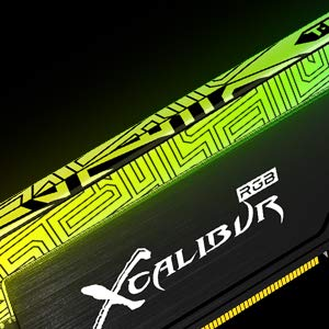 TEAMGROUP T-Force Xcalibur RGB Samsung IC 16GB (2x8GB) 3600MHz (PC4-28800) CL18 DDR4 Gaming Desktop Memory Module Ram Upgrade TF6D416G3600HC18EDC01 - Special Edition