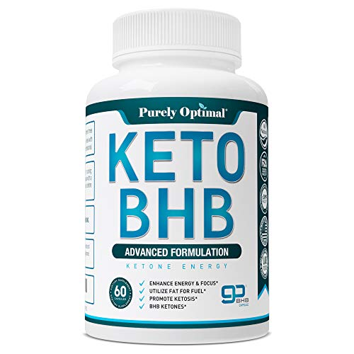 Premium Keto Diet Pills - Utilize Fat for Energy with Ketosis - Boost Energy & Focus, Manage Cravings, Support Metabolism - Keto BHB Supplement for Women and Men - 30 Day Supply (Best Pills To Lose Weight 2019)