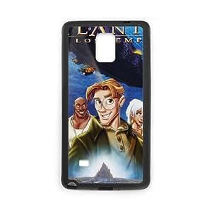 Samsung Galaxy Note 4 Cell Phone Case Black Atlantis The Lost Empire K2326281