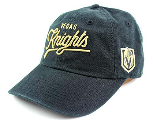 (American Needle NHL Banks Twill Dad Cap (One Size, Vegas Golden Knights))