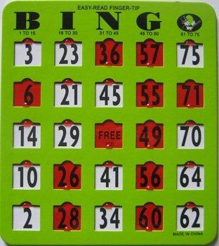 正式的 AliMed EZ ReadフィンガーTip Bingoカード3// 4