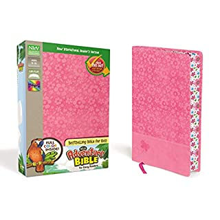 NIrV, Adventure Bible for Early Readers, Leathersoft, Pink, Full Color