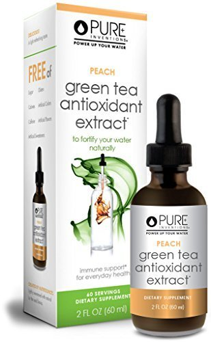 tioxidant Green Tea Extract - Peach (60 Servings) - 2 Oz ()