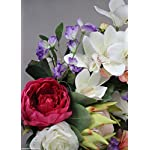 Floral-Home-Artificial-Sweet-Pea-Spray-in-Purple-16-Tall-Set-of-6
