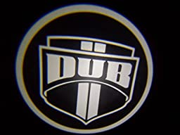 DUB Ghost Door Logo Projector Shadow Puddle Laser Led Lights 7w (Qty 2)