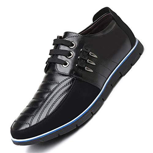 Casual Shoes Autumn Loafers Men Italy Rome Shoes Shoes Men Flats Black 10.5