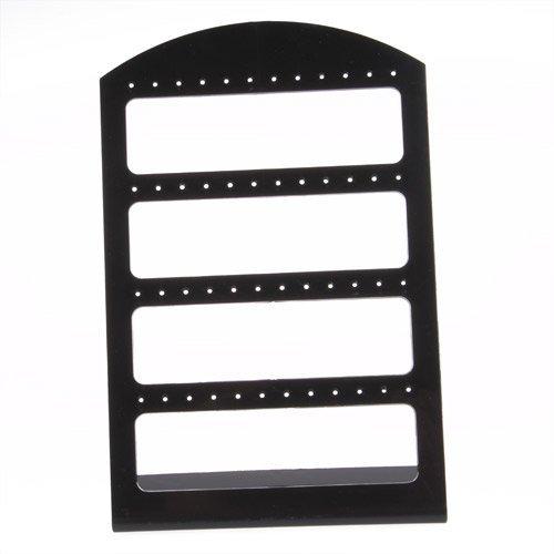 SODIAL(R) 120X190mm Porte boucle d'oreille boucle d'oreille support support noir 012317