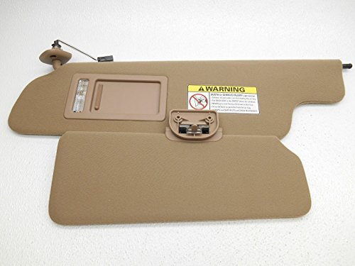 Truck Parts Nos Ford (NOS New OEM Ford Expedition Navigator F150 F-150 Sun Visor Tan Non-Sunroof Left)