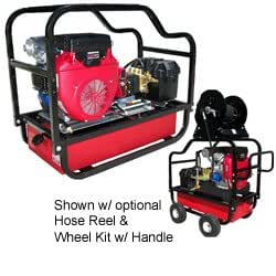 HDC5550HG Heavy Duty Pressure Washer Honda 5000Psi 5.5Gpm General Pump