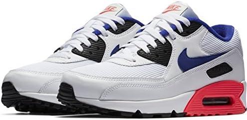 low priced 0654b 314a2 Nike Air Max 90 Essential White Ultramarine Solar Red 537384 ...