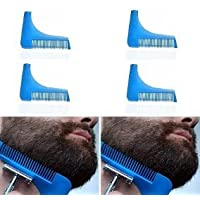 Peine Delineador De Barba Bigote 2 En 1 Tipo Beard Shaper!!!