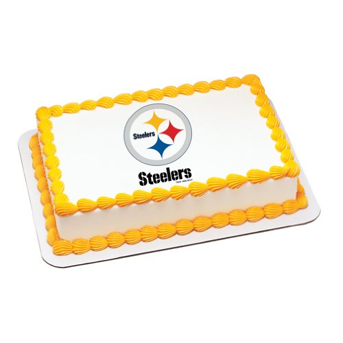 NFL Pittsburgh Steelers ~ Edible Cake Image
