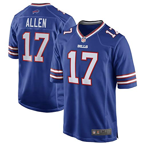 #17 Josh Allen Buffalo Bills Game Jersey - Royal XXL Buffalo Bills Football Jersey