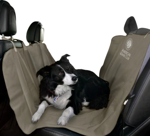 American Kennel Club Pet Car Seat Cover, Tan