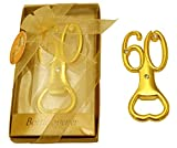 Pack of 24 Bottle Openers 60th Anniversary 60 Birthday Party Favors for Guests (Number 60)