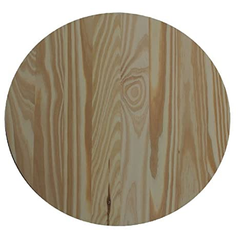 Allwood 12u0026quot; Pine Round Table Top