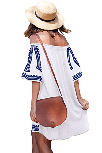 Miss Chica's - Camisola - para mujer blanco