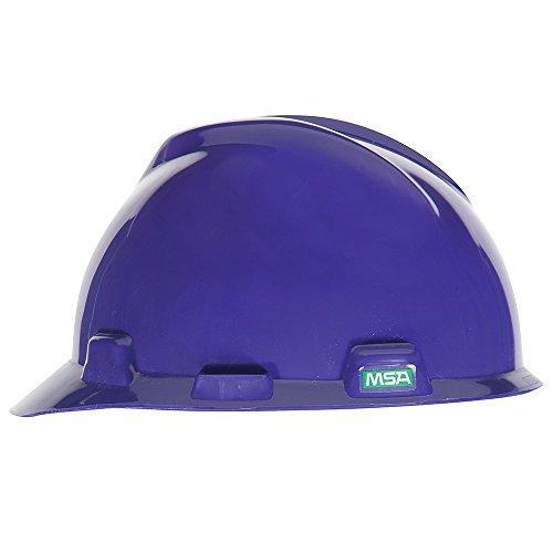 MSA 475358 V-Gard Slotted Hard Hat, Cap