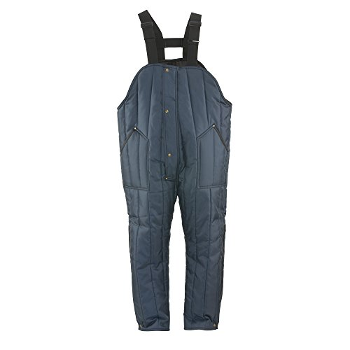 Navy High Bib Overall - 5