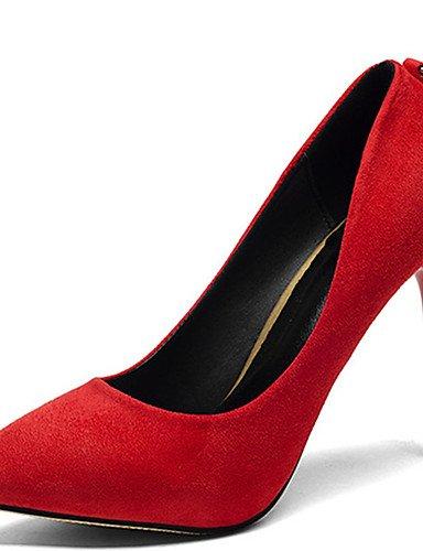 GGX/Damen Schuhe Stiletto Heel Spitz Zulaufender Zehenbereich Strass Pumpe mehr Farbe erhältlich black-us6.5-7 / eu37 / uk4.5-5 / cn37