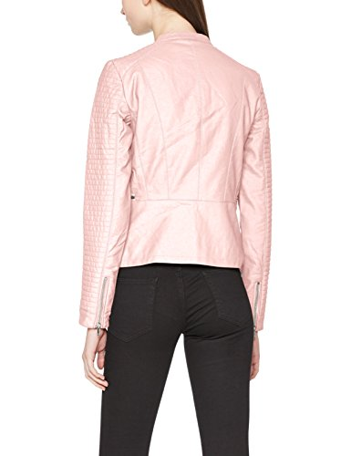 Peachskin Leather Peachskin OTW Onlheart Femme Faux Blouson Only Noos Rose Jacket RwF4vT