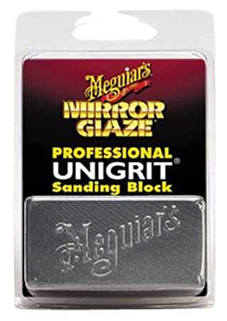 Meguiar's K2000 Mirror Glaze Unigrit Sanding Block - 2, 000 Grit Meguiar' s