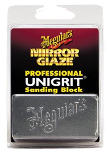 (Meguiar's K2000 Mirror Glaze 2000 Grit Unigrit Sanding Block, 1 Pack)