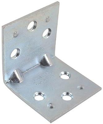 Stanley Hardware 2-1/2-Inch Double Wide Corner Brace, Zinc Plated #755690700