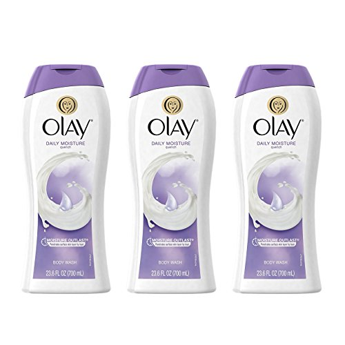 Olay Daily Moisture Quench Moisturizing Body Wash 23.6 Oz (Pack of 3)
