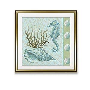 41NQnny1ZsL._SS300_ Seahorse Wall Art & Seahorse Wall Decor