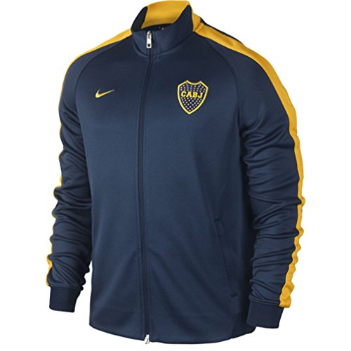 fan products of Nike Men's Boca Juniors N98 Authentic Track Jacket 2014/15 - Navy (XS)