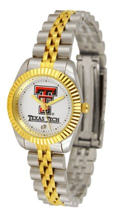 Texas Tech Red Raiders Ladies Executive Watch by Suntime (Raiders Executive Watch)