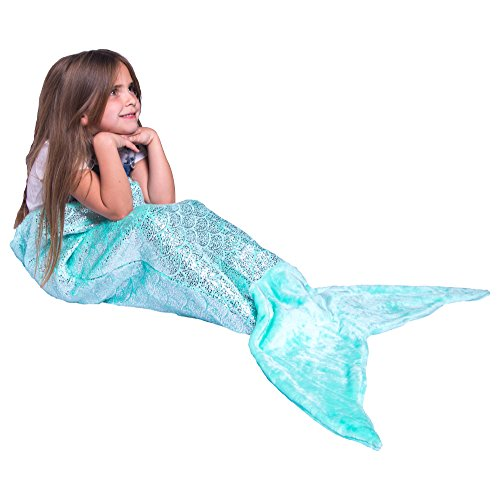 Mermaid Tail Blanket For Teenagers & Kids