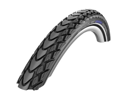 SCHWALBE Marathon Mondial Double Defence Tire with Folding Bead, 700 x 40cm/650gm
