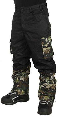 - Grenade Cargo Snowboard Pants Mens Sz XL Black/Camo