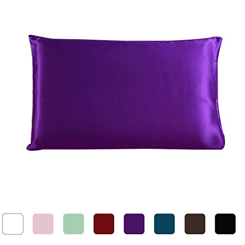 uxcell Mulberry Charmeuse Pillowcase 51x91cm
