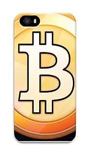 iPhone 5 5S Case Bitcoin Symbol 3D Custom iPhone 5 5S Case Cover