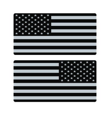 Subdued us flag ar15 magazine cartridge ar10 lower stock Hard Hat Funny Stickers