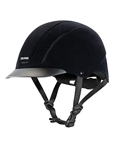 Troxel Capriole Velveteen Show Helmet -