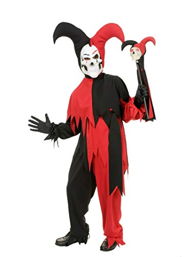 Halloween Store California (California Costumes Sinister Jester Costume, One Color,)