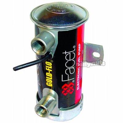 1x FACET 480532 haut rouge cylindrique Pompe carburant (rtw506)
