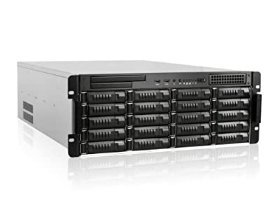 iStar E Storm E4M20 4U 20-Bay Rackmount Server Chassis with Mini SAS Backplane